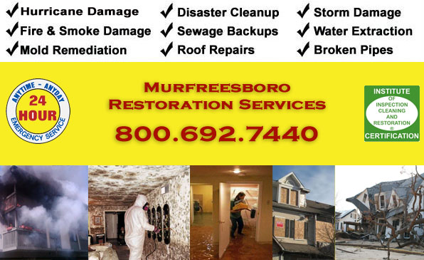 murfreesboro fire flood storm damage cleanup
